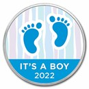 1 oz Silver Colorized Round - APMEX (2021 Baby Steps)
