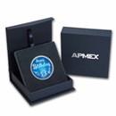 1 oz Silver Colorized Round - APMEX (2021 Birthday Blue)
