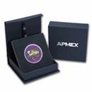 1 oz Silver Colorized Round - APMEX (2021 Birthday Fiesta)