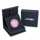 1 oz Silver Colorized Round - APMEX (2021 Birthday Pink)