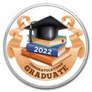 1 oz Silver Colorized Round - APMEX (2021 Prestigious Grad)