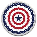 1 oz Silver Colorized Round - APMEX (Americana)