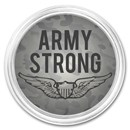 1 oz Silver Colorized Round - APMEX (Army - Strong)