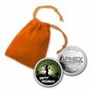 "1 oz Silver Colorized Round - APMEX (Happy Halloween ""Graveyard"")"