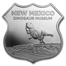 1 oz Silver - Icons of Route 66 (New Mexico Dinosaur Museum)
