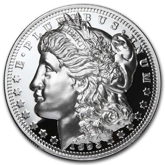 1 oz Silver Proof Round - American Legacy Series: Morgan Dollar