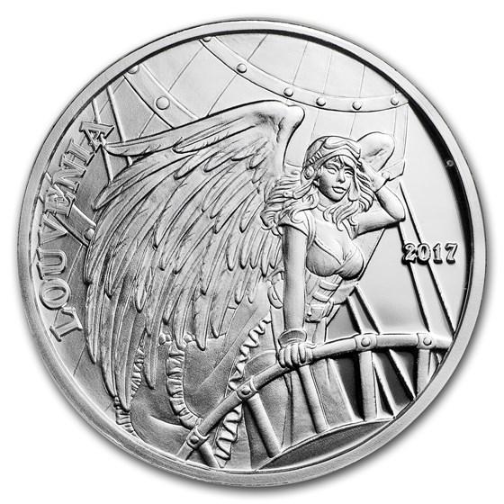 1 oz Silver Proof Round - Angels & Demons (Louvenia, No COA)