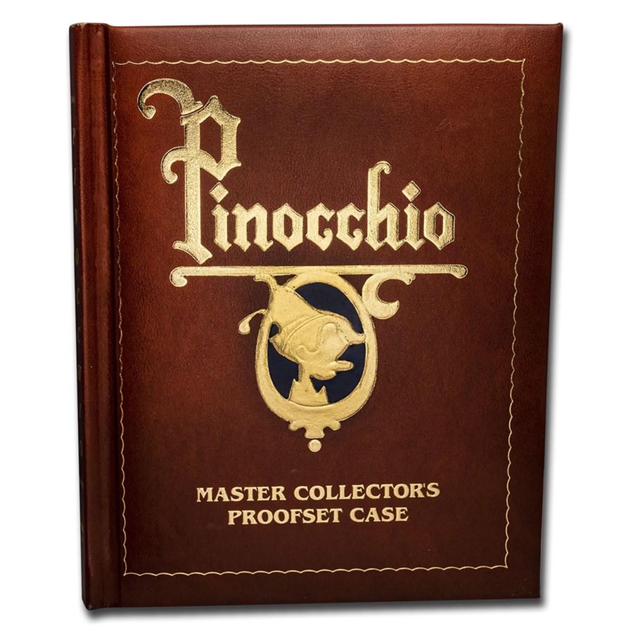 1 oz Silver Proof Round - Pinocchio 50th Anniv (6-Piece Set)