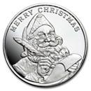 1 oz Silver Round - 2020 Santa