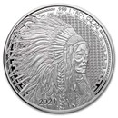 1 oz Silver Round - 2021 Liberty Trade Buffalo