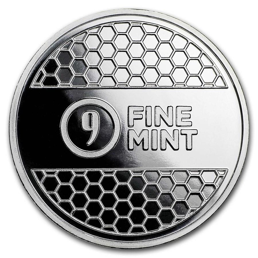 1 oz Silver Round - 9Fine Mint (Beehive)