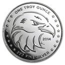 1 oz Silver Round - APMEX (2014 Eagle Eye)