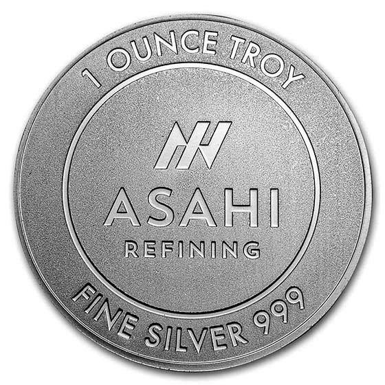 1 oz Silver Round - Asahi