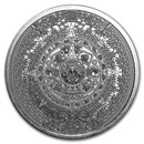 1 oz Silver Round - Aztec Calendar