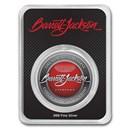 1 oz Silver Round Barrett-Jackson® Emblem in TEP