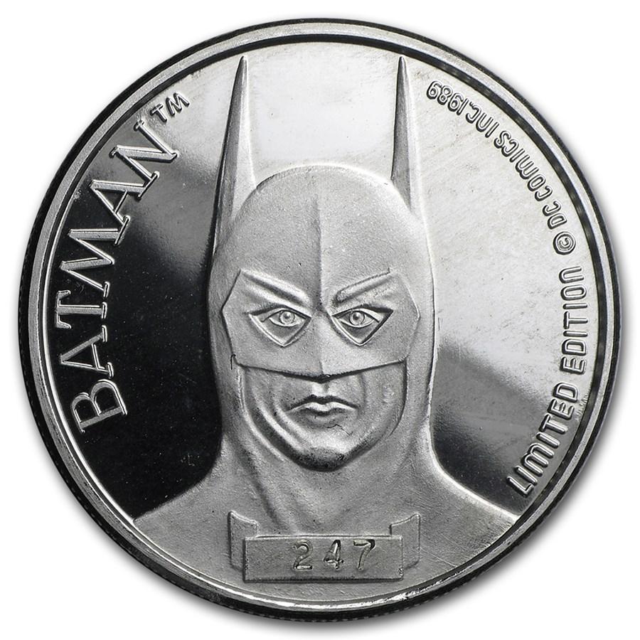 9 oz Silver Round   BATMAN 9th Anniversary, Random Motif