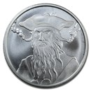 1 oz Silver Round - Blackbeard (Anonymous Mint)