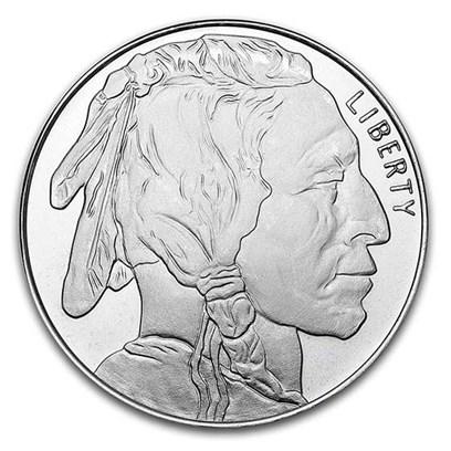 1 oz Silver Round - Buffalo