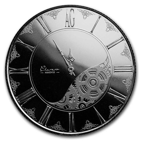 1 oz Silver Round - Chronos 2018 (Prooflike)