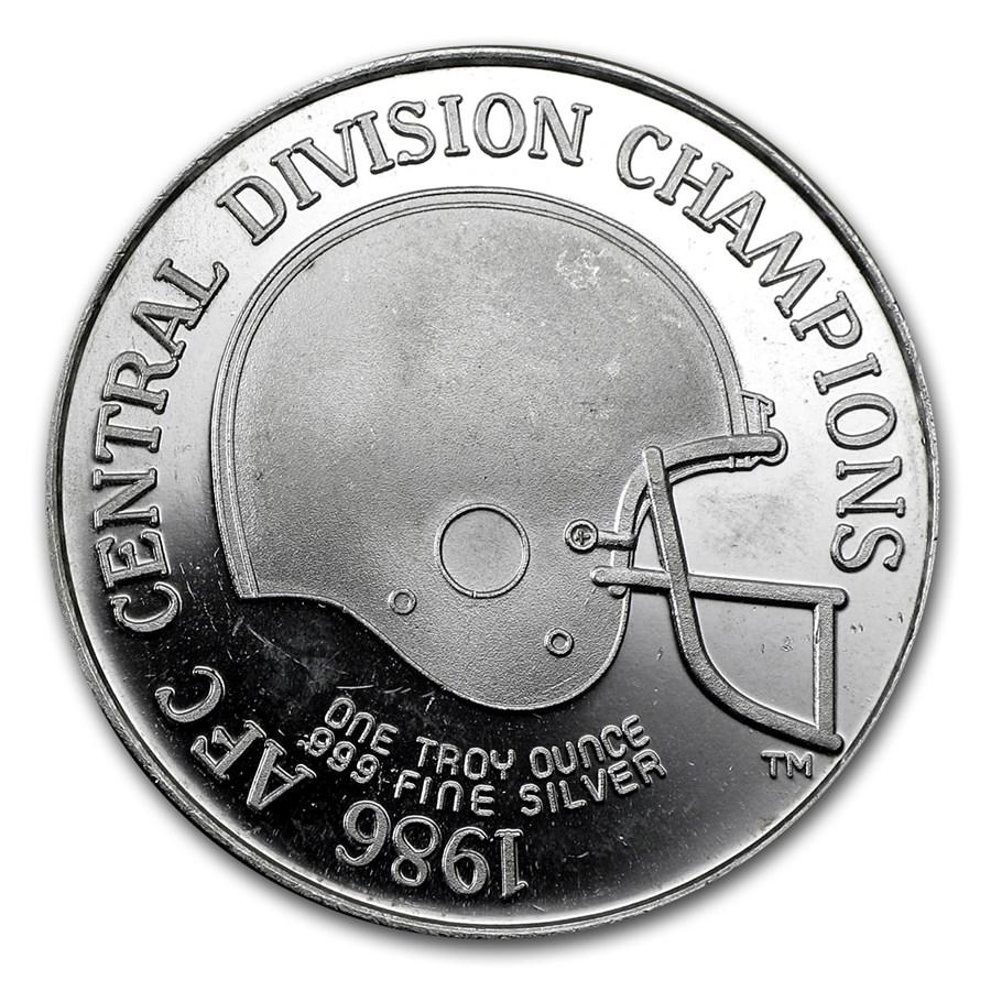 1 oz Silver Round - Cleveland Browns (1986)