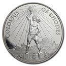 1 oz Silver Round - Colossus of Rhodes (w/Gift Box Tin)