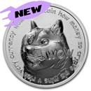 1 oz Silver Round - Dogecoin Round