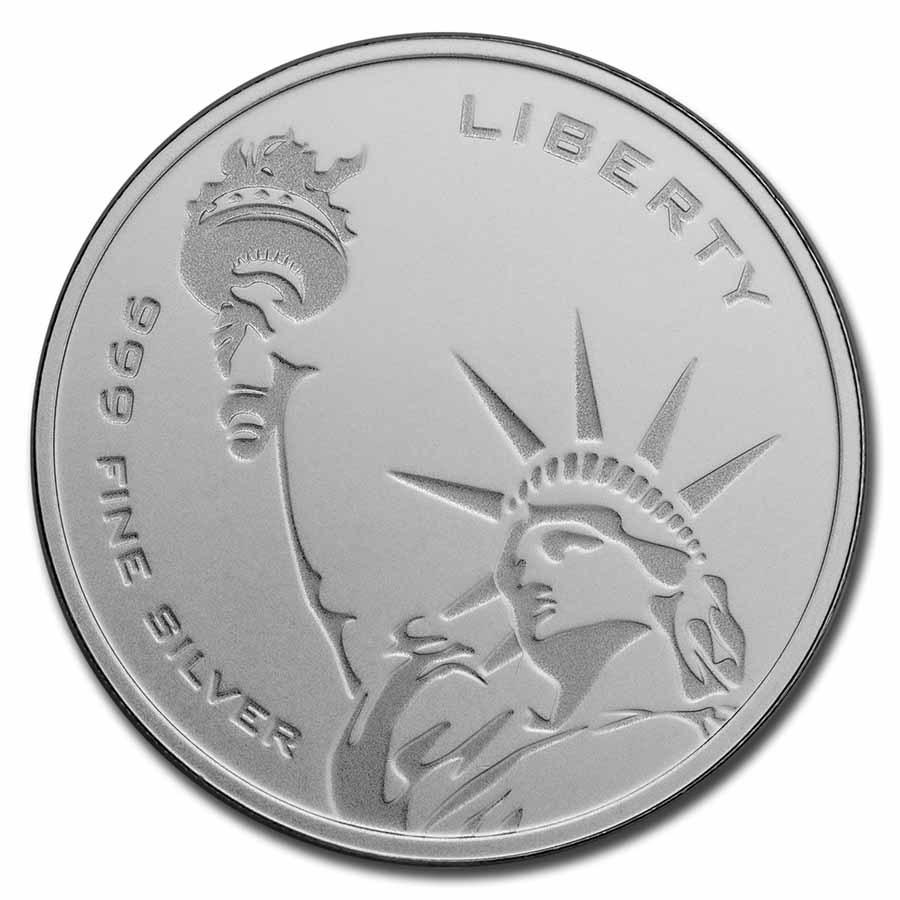 1 oz Silver Round - Freedom Liberty
