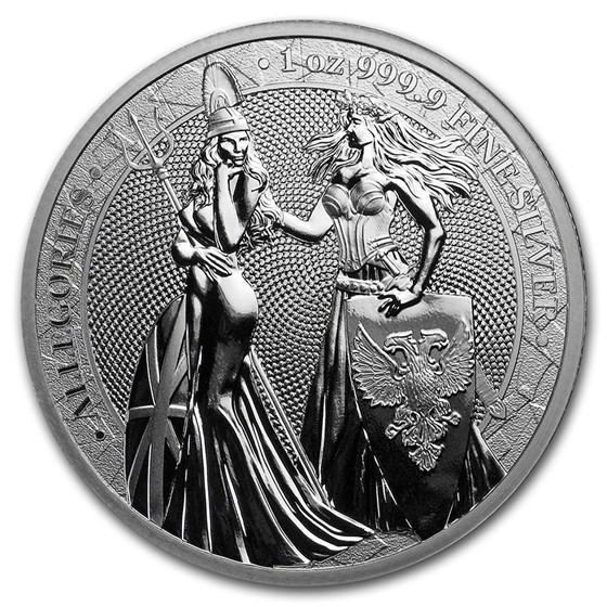 1 oz Silver Round - Germania 2019 BU (Britannia - No COA)