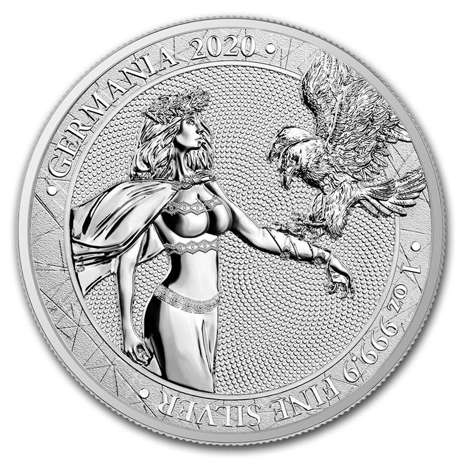 1 oz Silver Round - Germania 2020 BU