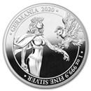1 oz Silver Round - Germania 2020 Proof