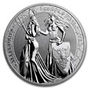 1 oz Silver Round - Germania Allegories 2019 BU (Special Blister)