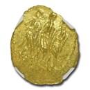 1 oz Silver Round - Germania Allegories Britannia (Abrasions)