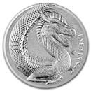 1 oz Silver Round - Germania Beasts 2020 BU (Fafnir)