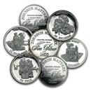 1 oz Silver Round - Johnson Matthey (Freedom, Random Design)