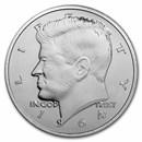 1 oz Silver Round - Kennedy Half Dollar