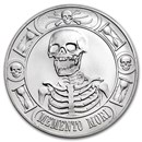 1 oz Silver Round - Memento Mori (Anonymous Mint)