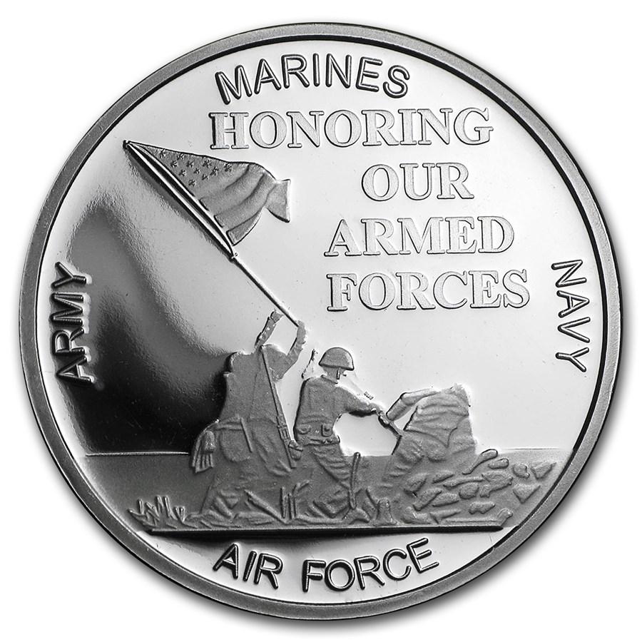 1 oz Silver Round - Military