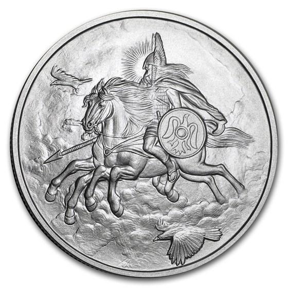 1 oz Silver Round - Nordic Creatures: Odin's Steed – Sleipnir BU