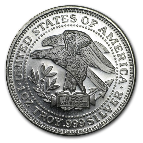 1 oz Silver Round - Northwest Territorial Mint Trade Unit