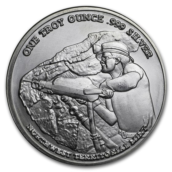 1 oz Silver Round - Pan American Silver Corp