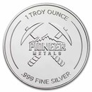 1 oz Silver Round - Pioneer Metals