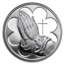 1 oz Silver Round - Praying Hands
