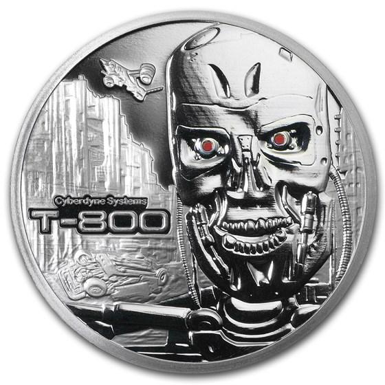 1 oz Silver Round - Terminator T-800