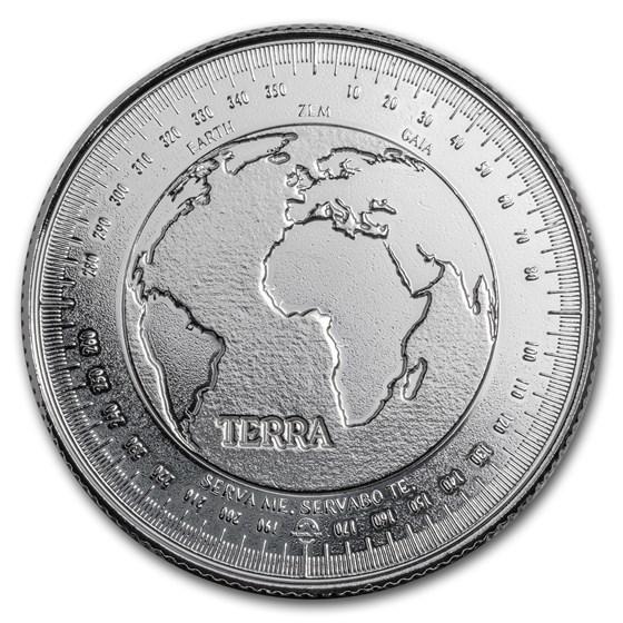 1 oz Silver Round - Terra