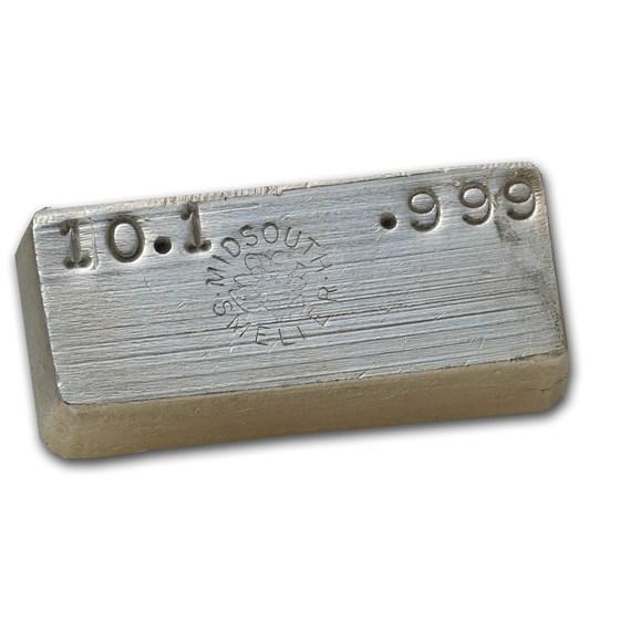 10.10 oz Silver Bar - Midsouth Smelter