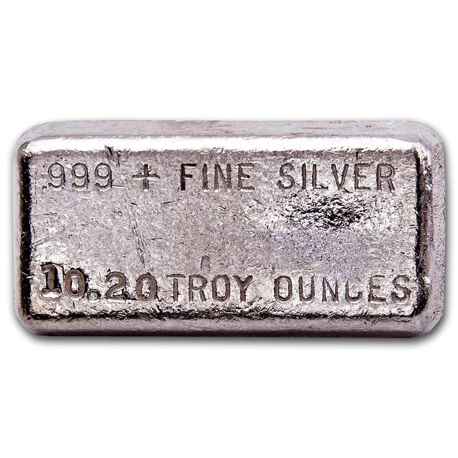 10.20 oz Silver Bar - Hallmark Precious Metals