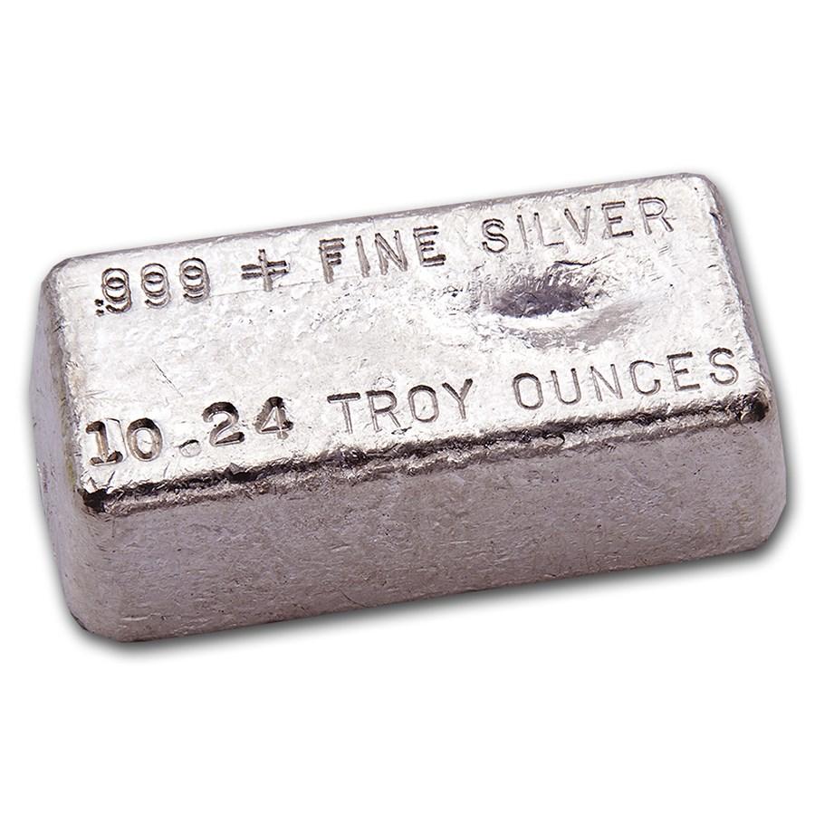 10.24 oz Silver Bar - Hallmark Precious Metals