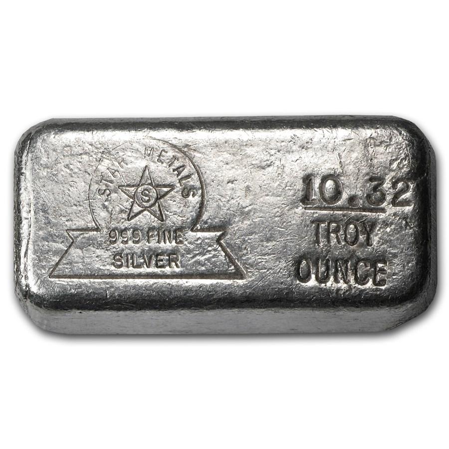 10.32 oz Silver Bar - Star Metals