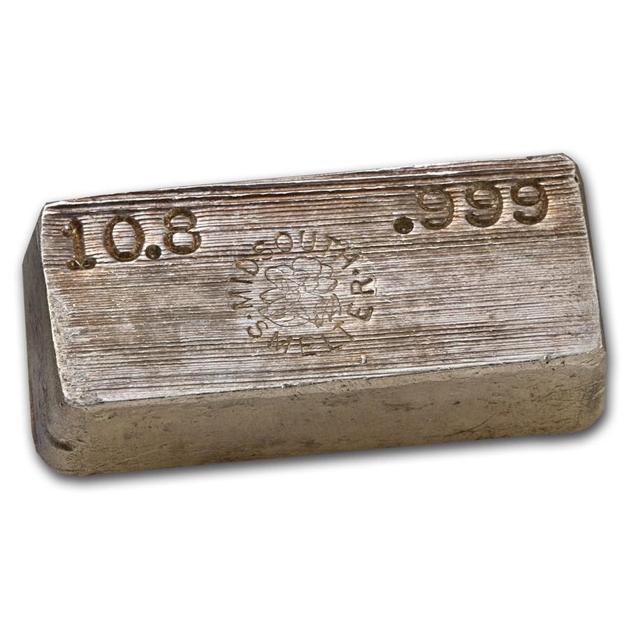 10.8 oz Silver Bar - Midsouth Smelter