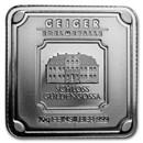10 g Silver Square - Geiger Edelmetalle (Original Square Series)